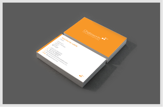 Chatsworth Business Cards
