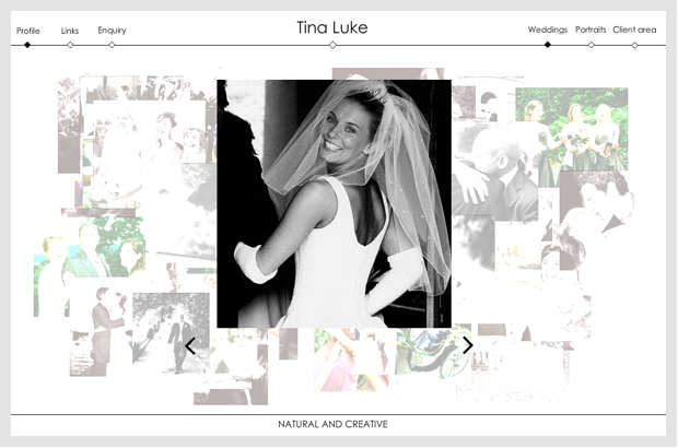 TIna Luke Website